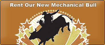 Ride our new mechanical bull