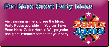Visit samsjams.me for Music Party Packs